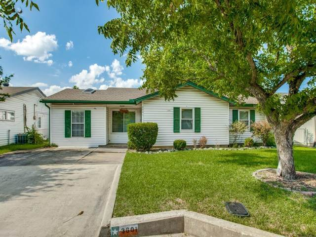 3601 Larry Street, Rowlett, TX 75088 (MLS #14639578) :: All Cities USA Realty