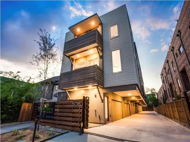 5015 Manett Street #101, Dallas, TX 75206 (MLS #14639655) :: RE/MAX Landmark