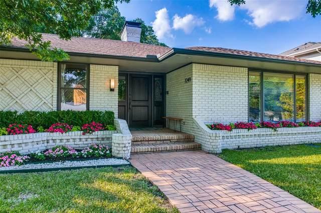 7249 Kenny Lane, Dallas, TX 75230 (MLS #14640022) :: Real Estate By Design