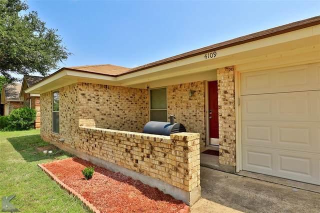 4109 Sera Drive, Abilene, TX 79606 (MLS #14640063) :: The Chad Smith Team