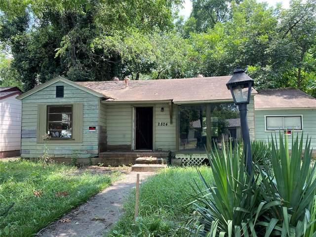 2824 Cherrywood Avenue, Dallas, TX 75235 (MLS #14640253) :: Real Estate By Design