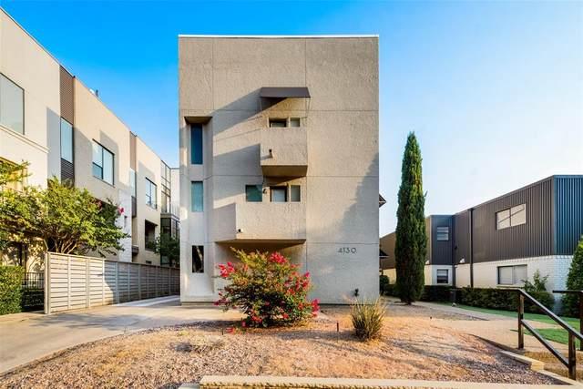 4130 Newton Avenue B, Dallas, TX 75219 (MLS #14640365) :: Real Estate By Design