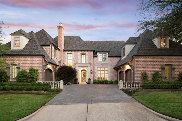 6924 Stone Meadow Drive, Dallas, TX 75230 (MLS #14640389) :: Real Estate By Design