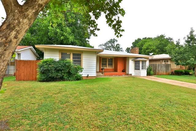 1226 S Jefferson Drive, Abilene, TX 79605 (MLS #14640746) :: Craig Properties Group