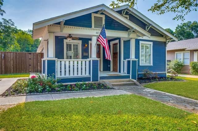 402 S Montclair Avenue, Dallas, TX 75208 (MLS #14640755) :: Wood Real Estate Group