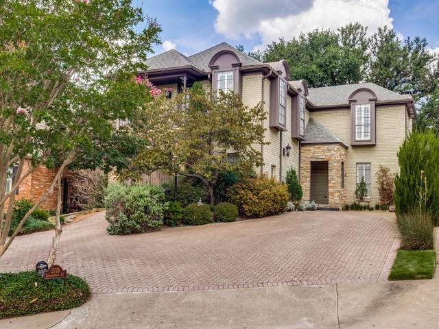 2715 Lawtherwood Court, Dallas, TX 75214 (MLS #14640797) :: Wood Real Estate Group