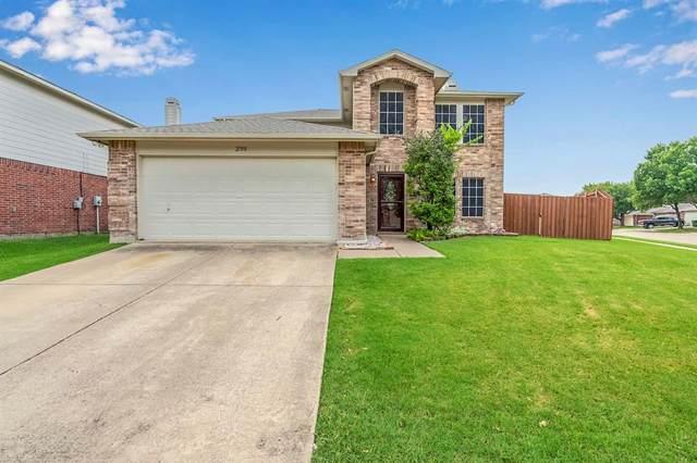 2708 White Oak Drive, Little Elm, TX 75068 (MLS #14640861) :: The Chad Smith Team