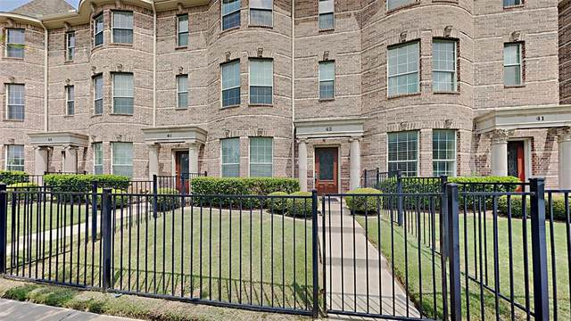 2500 Rockbrook Drive #42, Lewisville, TX 75067 (MLS #14641072) :: The Chad Smith Team