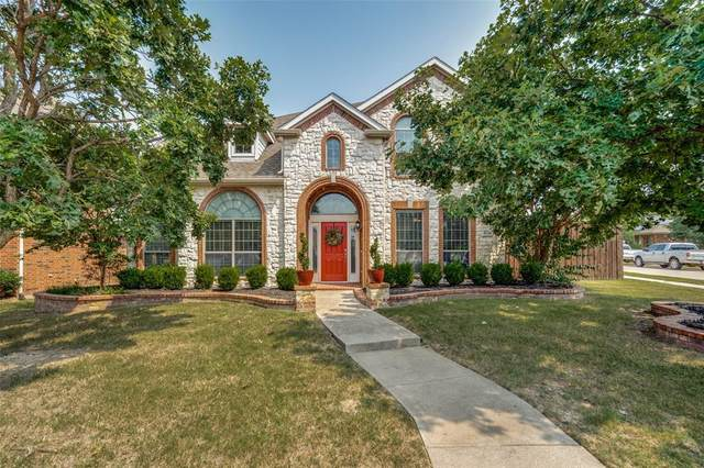 8784 Fredrick Drive, Frisco, TX 75033 (MLS #14641168) :: The Mauelshagen Group