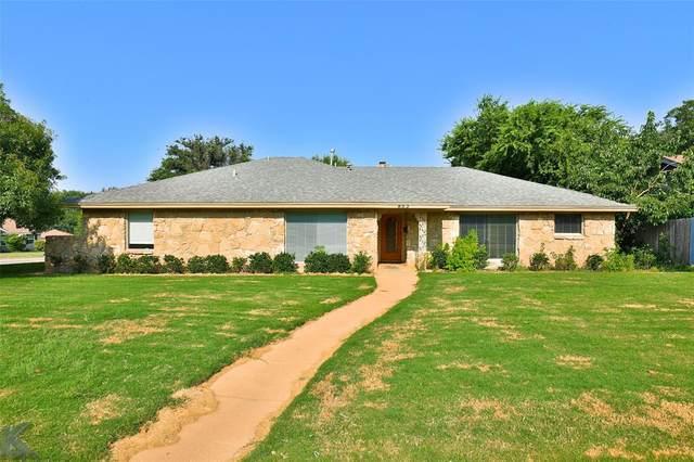 802 Harrison Avenue, Abilene, TX 79601 (MLS #14641202) :: Real Estate By Design