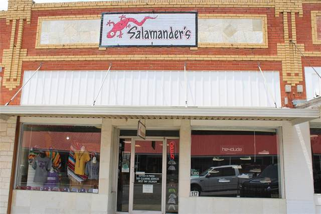 117 N Main Street, Cross Plains, TX 76443 (MLS #14641227) :: All Cities USA Realty