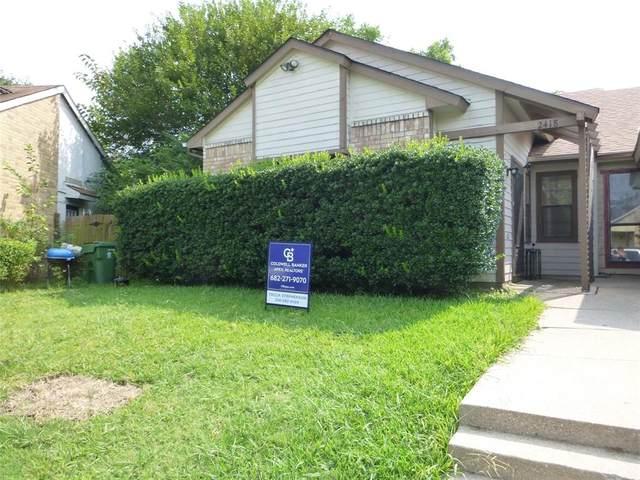 2418 Limestone Drive, Arlington, TX 76014 (MLS #14641309) :: The Good Home Team