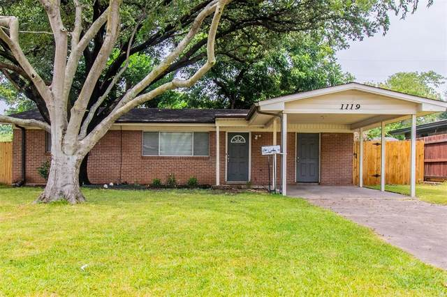 1119 Mohawk Drive, Irving, TX 75061 (MLS #14641319) :: Real Estate By Design