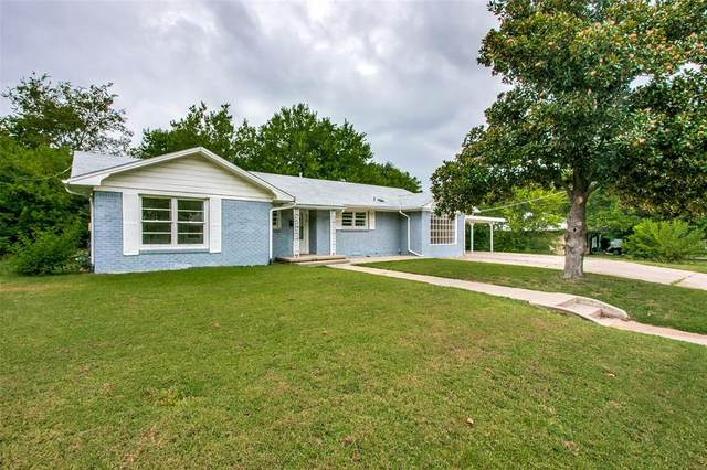 819 Thomas Street, Denton, TX 76201 (MLS #14641396) :: All Cities USA Realty