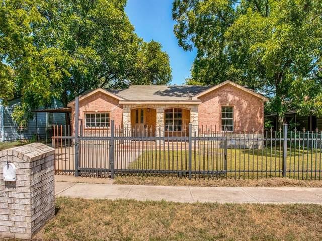 5049 Glen Park Drive, Fort Worth, TX 76119 (MLS #14641559) :: Craig Properties Group