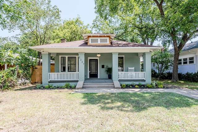 2227 Fairmount Avenue, Fort Worth, TX 76110 (MLS #14642245) :: Keller Williams Realty