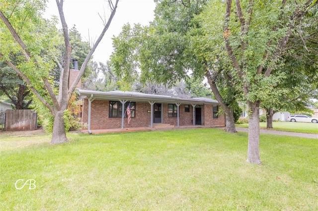 4141 Monticello Street, Abilene, TX 79605 (MLS #14643097) :: Real Estate By Design