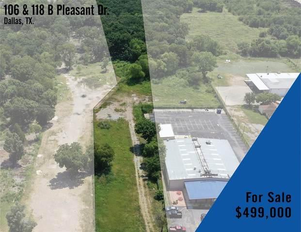 106 Pleasant Drive, Dallas, TX 75217 (MLS #14643898) :: Real Estate By Design
