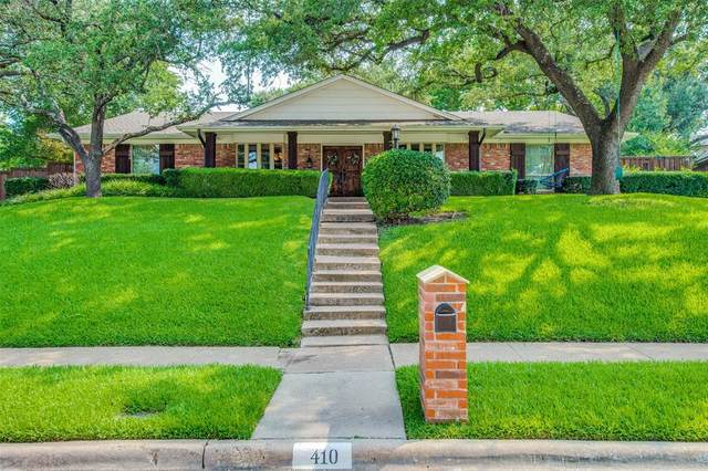 410 Fall Creek Drive, Richardson, TX 75080 (MLS #14644309) :: Craig Properties Group