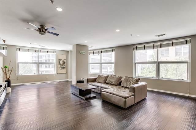 2323 N Houston Street #202, Dallas, TX 75219 (MLS #14644349) :: Real Estate By Design
