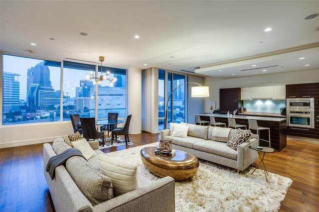 2408 Victory Park Lane #836, Dallas, TX 75219 (#14644850) :: Homes By Lainie Real Estate Group