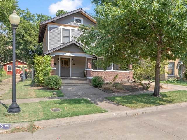 1717 College Avenue, Fort Worth, TX 76110 (MLS #14645276) :: Craig Properties Group