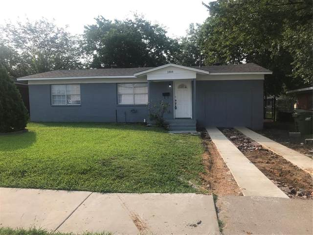 1804 Hillcrest Street, Mesquite, TX 75149 (MLS #14646198) :: Russell Realty Group