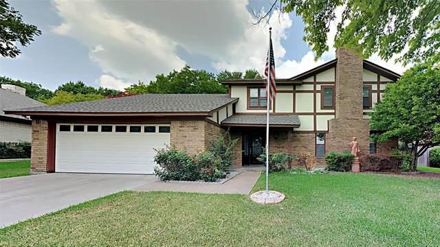 460 Meadowhill Drive, Benbrook, TX 76126 (MLS #14646480) :: Craig Properties Group