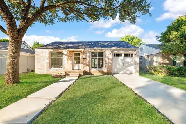 4659 Westside Drive, Highland Park, TX 75209 (MLS #14646573) :: The Juli Black Team