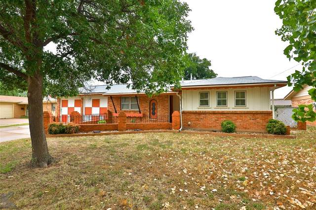 2634 Edgemont Drive, Abilene, TX 79605 (MLS #14646923) :: Russell Realty Group