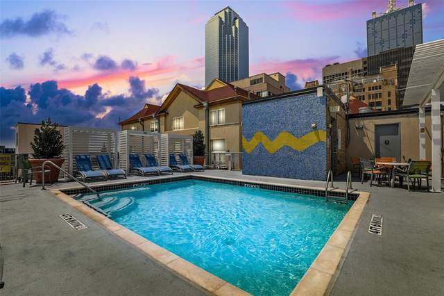 1122 Jackson Street #421, Dallas, TX 75202 (#14647161) :: Homes By Lainie Real Estate Group