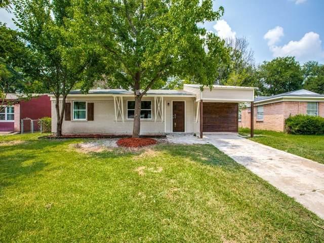 4727 Laurel Lane, Mesquite, TX 75150 (MLS #14647363) :: Real Estate By Design