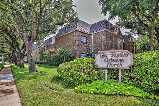 4420 Harlanwood Drive N #130, Fort Worth, TX 76109 (MLS #14647754) :: Real Estate By Design
