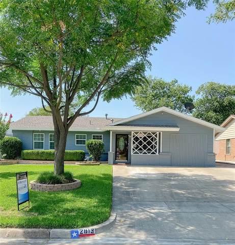 2813 W Fuller Avenue, Fort Worth, TX 76133 (MLS #14647941) :: Craig Properties Group
