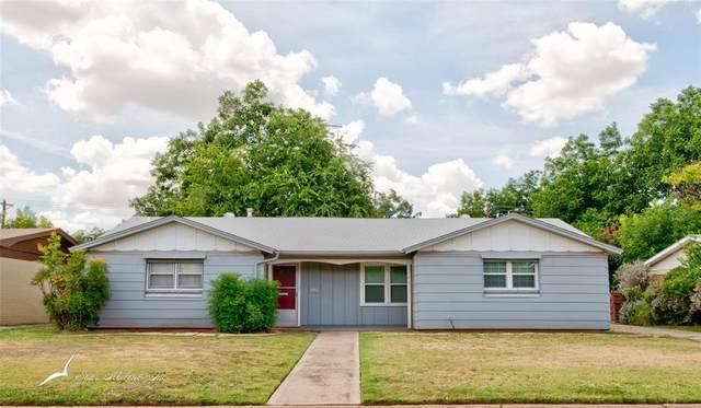 1462 Beechwood Lane, Abilene, TX 79603 (MLS #14648388) :: Russell Realty Group