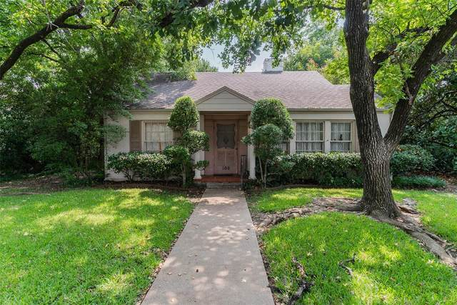 100 Crestwood Drive, Fort Worth, TX 76107 (#14649532) :: Homes By Lainie Real Estate Group