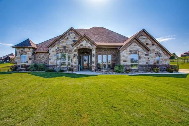 180 Pinnacle Peak Lane, Weatherford, TX 76087 (MLS #14650277) :: All Cities USA Realty