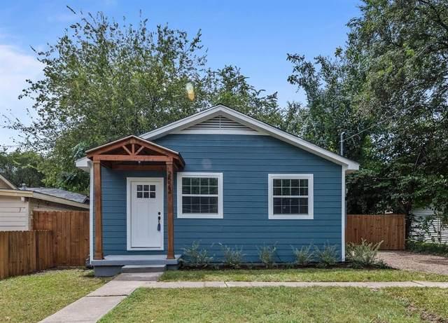 2522 Glenfield Avenue, Dallas, TX 75233 (MLS #14650347) :: Real Estate By Design