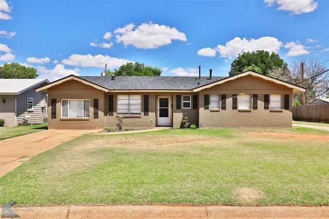 2317 Glendale Drive, Abilene, TX 79603 (MLS #14650679) :: Russell Realty Group