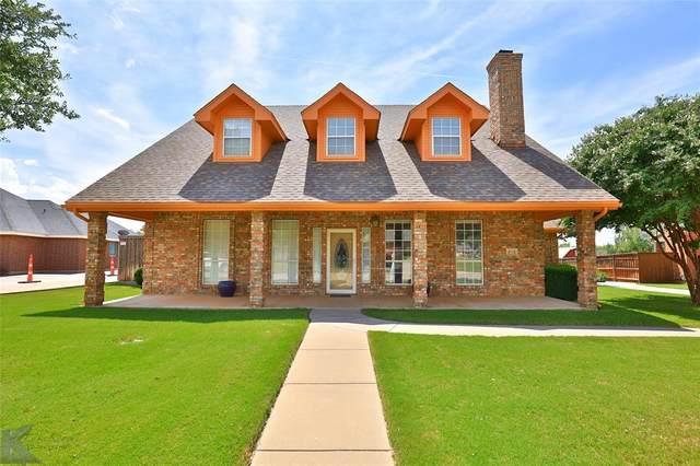 4534 Cougar Way, Abilene, TX 79606 (MLS #14650832) :: Real Estate By Design
