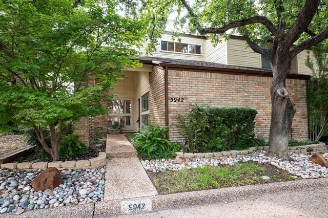 5942 Preston Valley Drive, Dallas, TX 75240 (MLS #14650965) :: Real Estate By Design