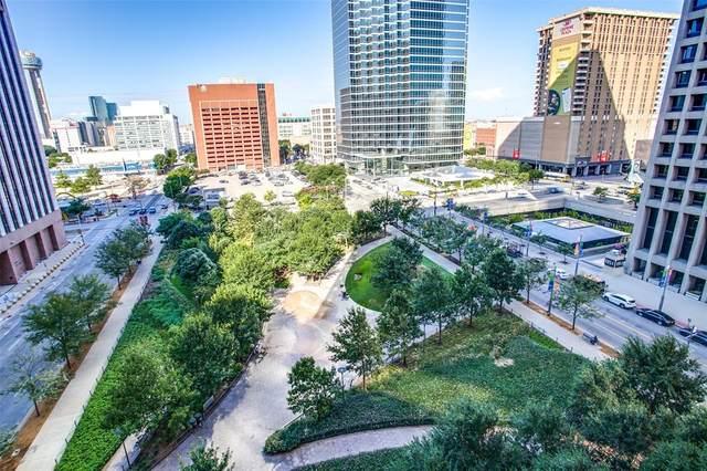 1200 Main Street #703, Dallas, TX 75202 (MLS #14651697) :: The Chad Smith Team