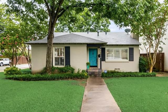 4638 W Amherst Avenue, Dallas, TX 75209 (MLS #14652578) :: Real Estate By Design