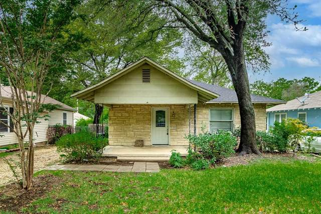 2726 College Avenue, Fort Worth, TX 76110 (MLS #14652819) :: Real Estate By Design