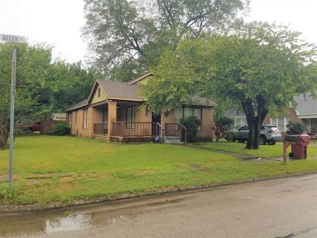 901 Beech Street, Bonham, TX 75418 (MLS #14652835) :: Real Estate By Design