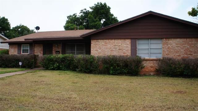 1738 Marsalis Drive, Abilene, TX 79603 (MLS #14652959) :: The Krissy Mireles Team