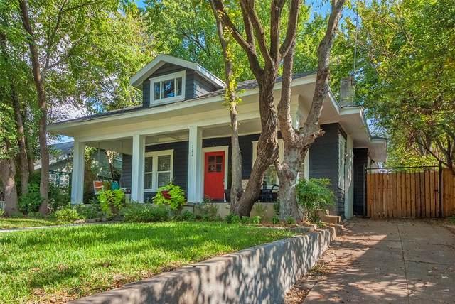 722 Huntley Street, Dallas, TX 75214 (MLS #14653348) :: Real Estate By Design