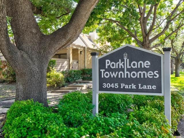 3121 Park Lane Z1151, Dallas, TX 75220 (MLS #14653737) :: Real Estate By Design