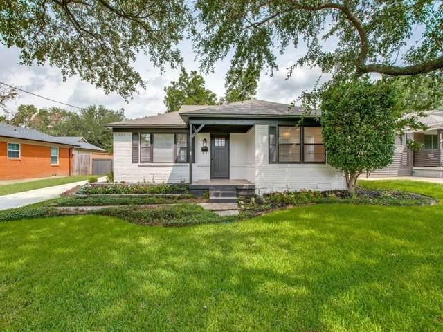 6811 Patrick Drive, Dallas, TX 75214 (MLS #14654035) :: The Mauelshagen Group