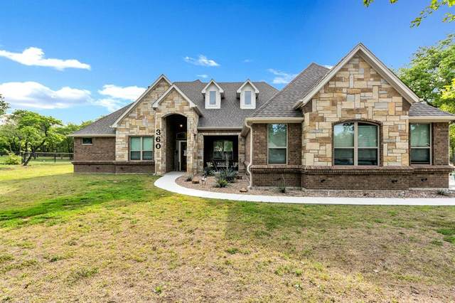 360 Timbers Circle, Poolville, TX 76487 (MLS #14654050) :: Russell Realty Group